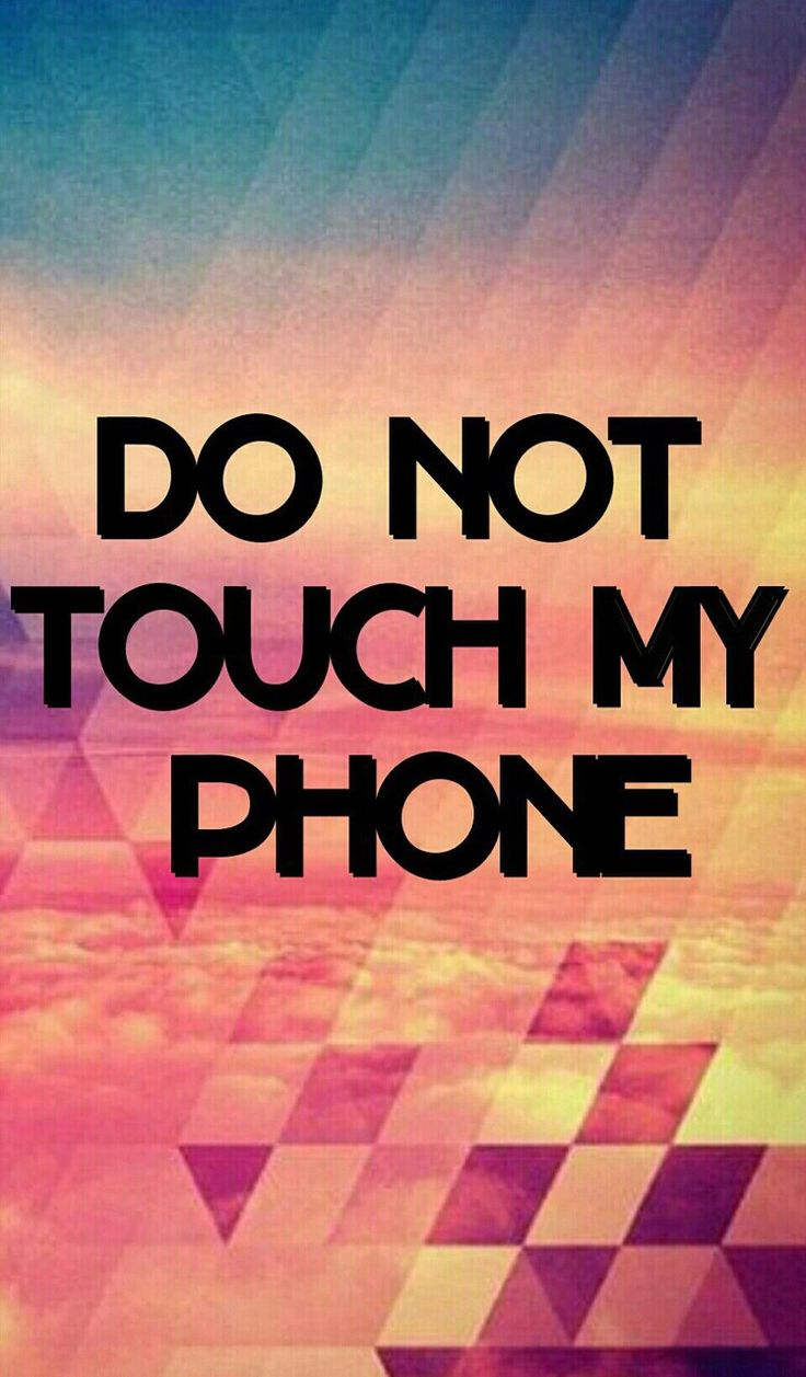 Imágenes de no toques mi celular lindas