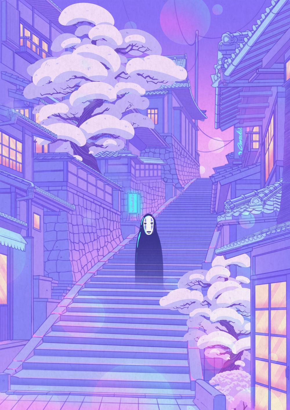 Fondos de pantalla aesthetic anime