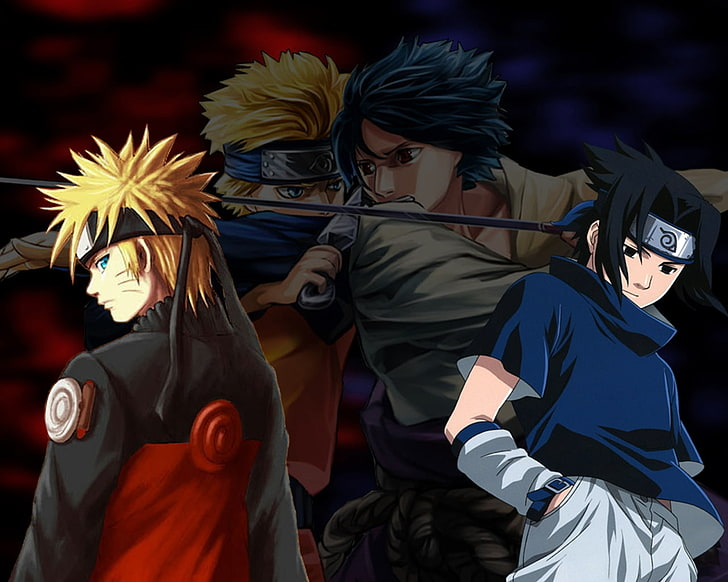 Fondos de pantalla de naruto y sasuke