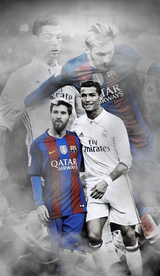 Fondos de pantalla de Messi y CR7