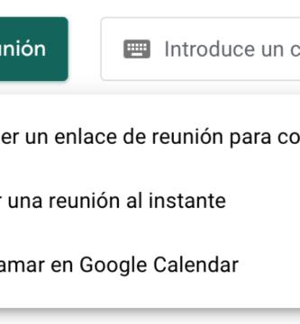 Cambiar fondo de pantalla en Google Meet