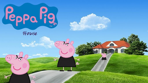 Peppa Pig house Wallpapers