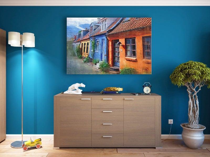 Azul pastel pared gratis